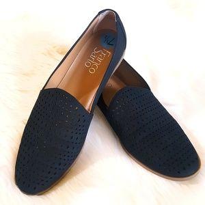 Franco Sarto Factor Eyelet Slip on Loafers